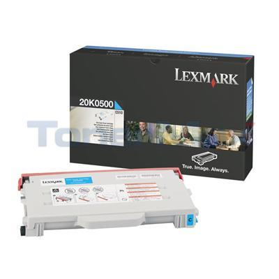 LEXMARK C510 TONER CART CYAN 3K